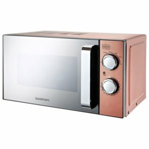Goodmans Copper Countertop Microwave Capacity 20L 700W